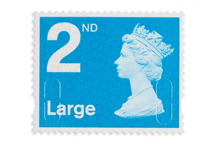 How much is a second class stamp?